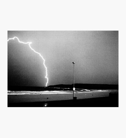 Beached Lightning - Sydney - NSW - Australia Photographic Print