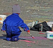 A little painter by Paola Svensson