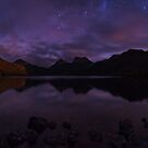 Moonlit Cradle - Cradle Mountain Tasmania by Mark Shean