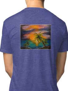 TequilaSunrise Tri-blend T-Shirt