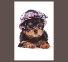 Yorkshire Terrier in the hat One Piece - Short Sleeve