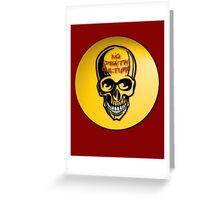 NDC No Death Culture Greeting Card