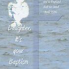 Baptism Angel  by L J Fraser