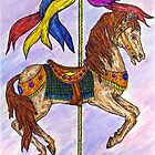 Carousel horse by artbyjehf