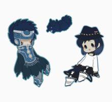 DRAMAtical Murder Sei Ren with cloak by toifshi
