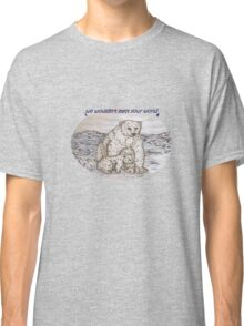 Polar Bears with a request Classic T-Shirt