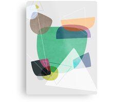 Graphic 122 Metal Print