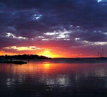 Sunset by Helen Martikainen