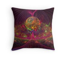 Disco Inferno Throw Pillow