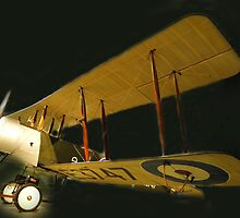 Avro 504K - RAAF Museum, Point Cook, Australia by Bev Pascoe