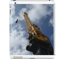 Looking up a crane iPad Case/Skin