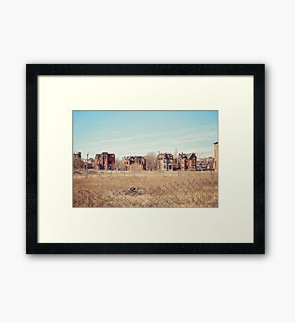 Brush Park  Framed Print