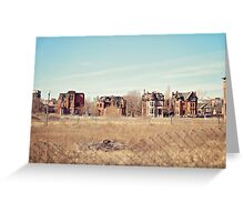Brush Park  Greeting Card