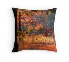 Deep Within Autumn Throw Pillow