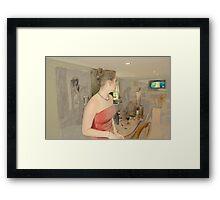 Three Figures on Saturday Afternoon Framed Print