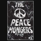 The Peacemongers black by Lou Van Loon