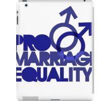 Pro marriage equality iPad Case/Skin