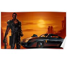 Mad Max and the V8 Interceptor Poster
