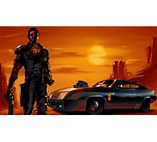 Mad Max and the V8 Interceptor Photographic Print