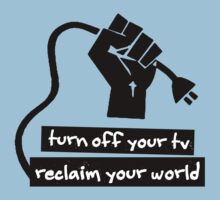 Turn Off Your TV T-Shirt