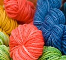Yarn Skeins by phil decocco