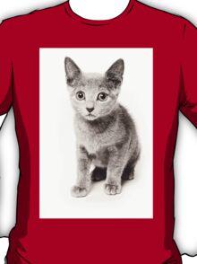 cute fluffy kitten T-Shirt