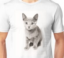 cute fluffy kitten Unisex T-Shirt
