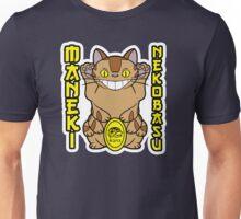 Maneki Neko-basu Unisex T-Shirt