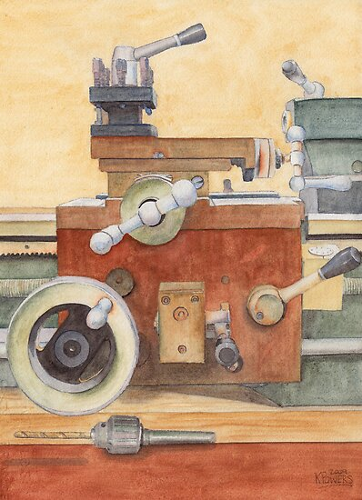 The Lathe by Ken Powers