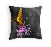 A Splash of Color (In an Otherwise Dull World) Throw Pillow