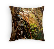 Javelin's in the bush (HDR) Throw Pillow