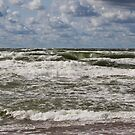 The Baltic sea at day by Antanas
