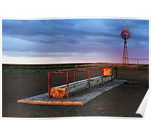 Cattle Trough - Hay Plains Poster