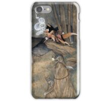 Okina Illusions - Fox Kitsune Yokai iPhone Case/Skin