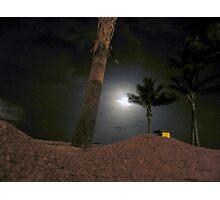moonlit dune Photographic Print