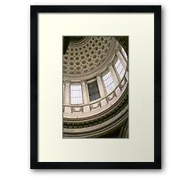 The Panthéon, in Paris, in detail Framed Print
