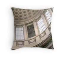 The Panthéon, in Paris, in detail Throw Pillow
