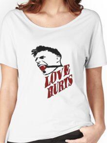 Love Hurts, Women's Relaxed Fit T-Shirt