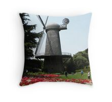 quixote and the queen Throw Pillow