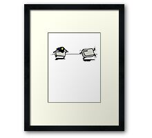CTRL Police After ESC Framed Print