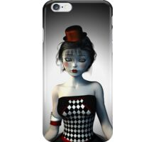 Circus doll carnival iPhone Case/Skin