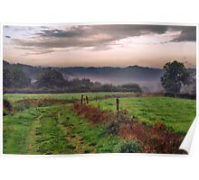 Morning in the Creuse Poster