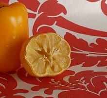 Still Life Capsicum & Old Lemon by tristanchan
