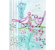 Springtime Birds Photographic Print