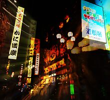 Dotonbori - Osaka, Japan by Rick Box