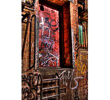 The Red Door Photographic Print