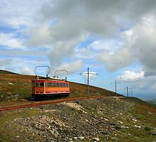 Snae Fell Mountain Railway by RedHillDigital
