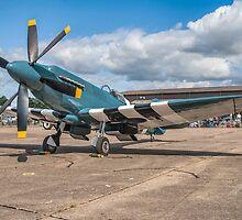 6-blader Spitfire PS890/F-AZJS by Colin Smedley