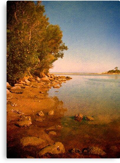 Where the Lake meets the Sea by Kitsmumma