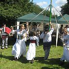 Maypole Dancing (Eastwell Leics village fete Aug 09) by fatchickengirl